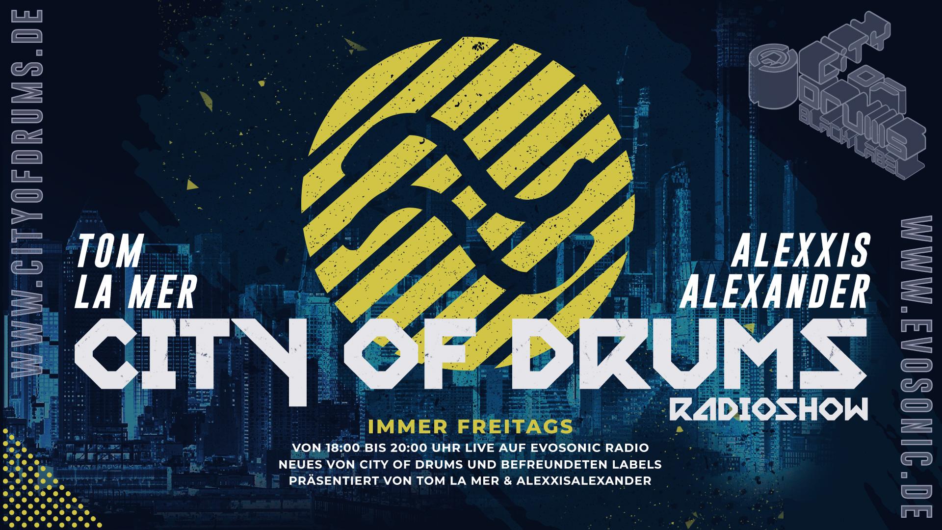 City of Drums mit Tom La Mer
