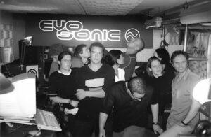 1998 - Das Team von EVOSONIC