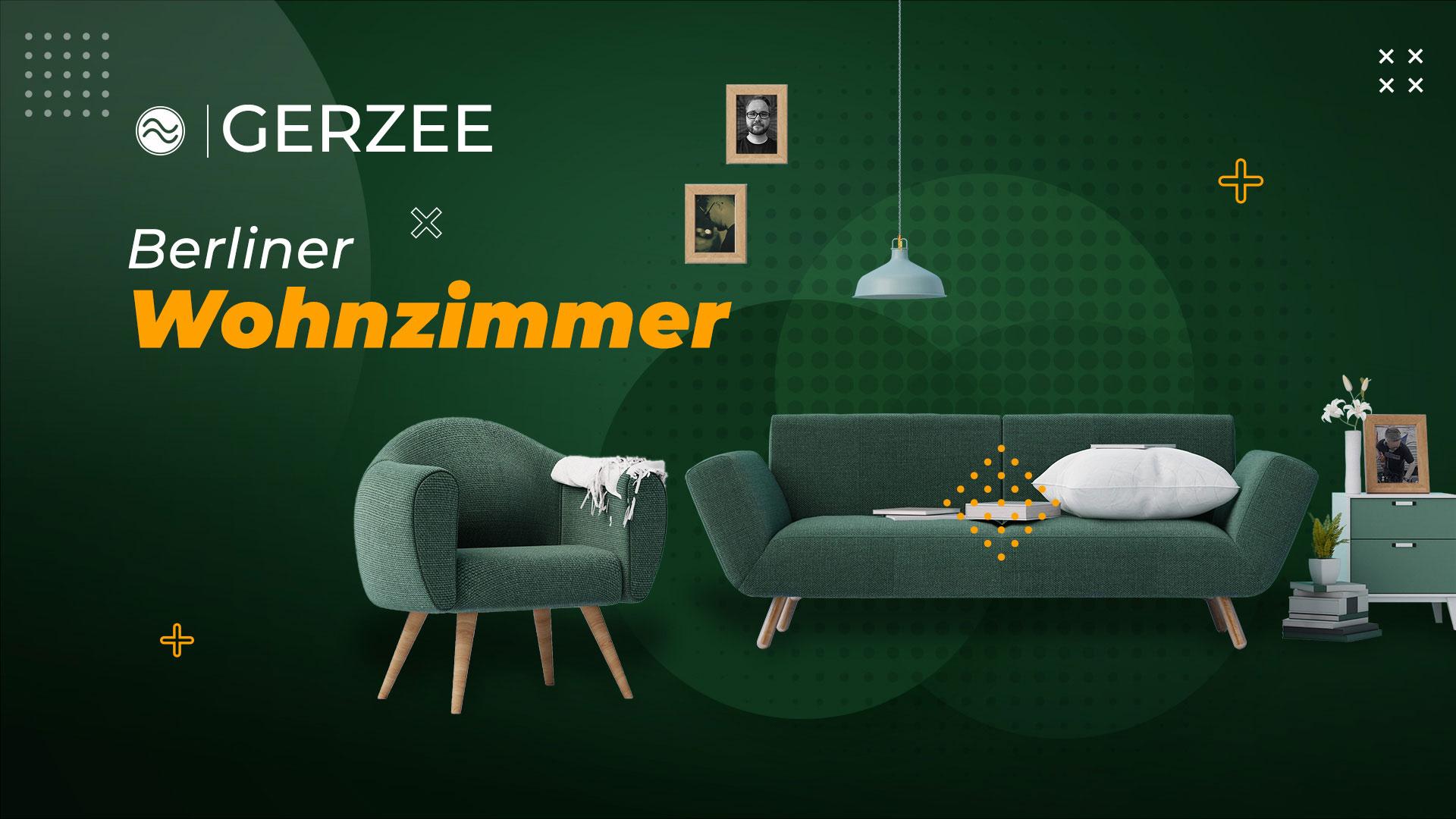 BERLINER WOHNZIMMER mit GERZEE