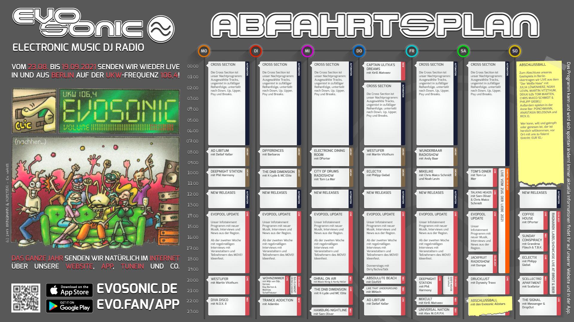 EVOSONIC Live aus Berlin – Woche 4
