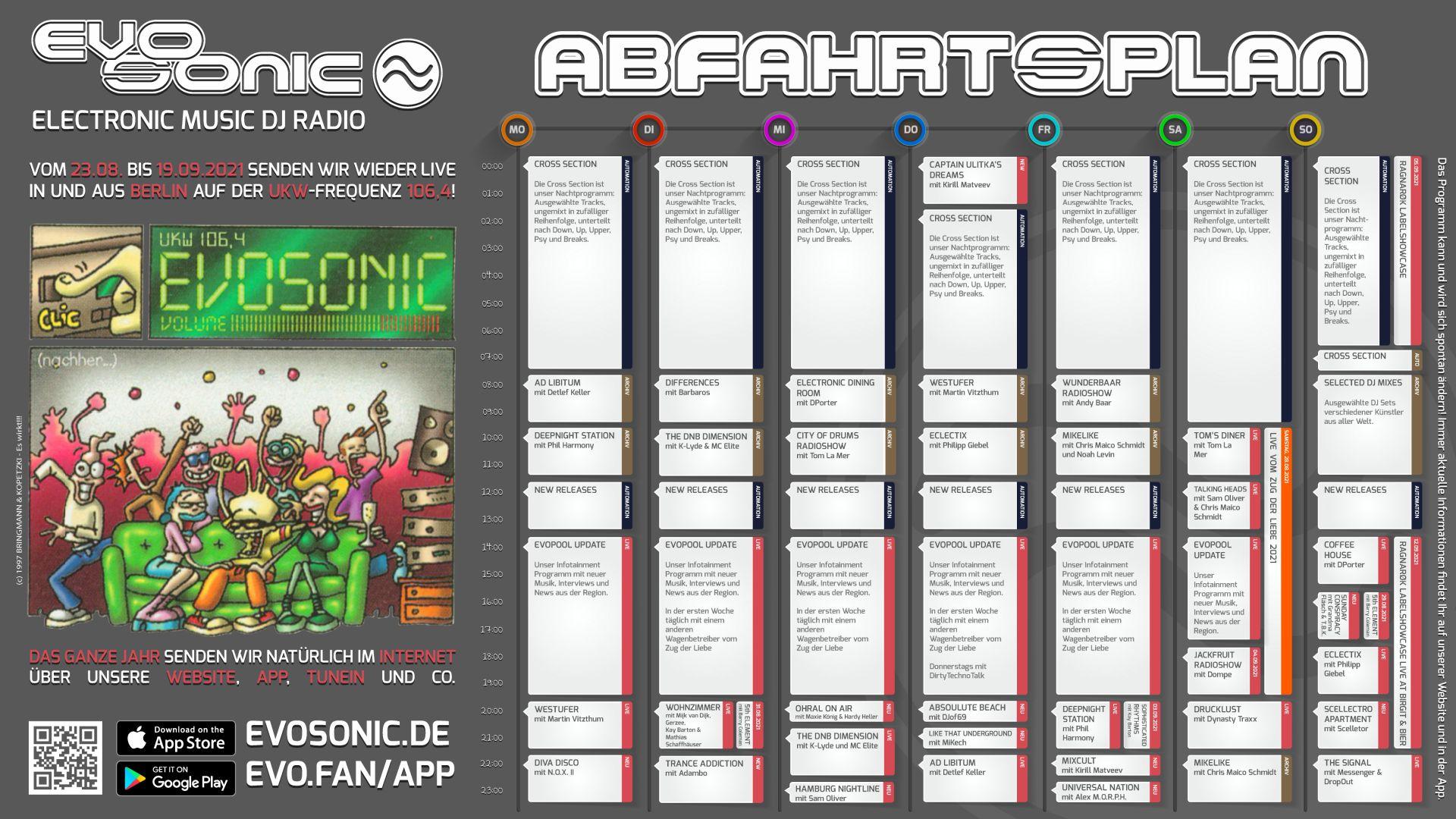EVOSONIC Live aus Berlin – Woche 3